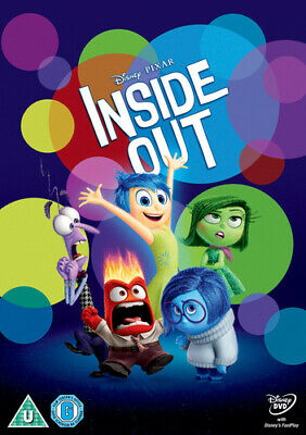 Inside Out DVD (2015) Pete Docter