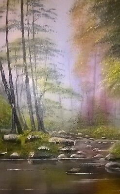 """Original Oil Painting on canvas 24""""x20"""" Landscape from artist Kevin Richards"""