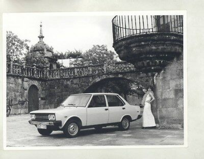 1975 ? Seat Fiat ORIGINAL Factory Photograph wy6025
