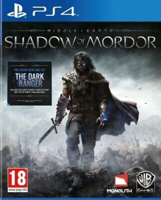 Middle-earth: Shadow of Mordor (PS4) VideoGames