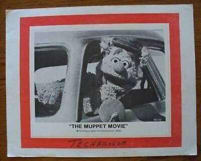 The Muppet Movie Lobby Photo Card Frozzie Bear
