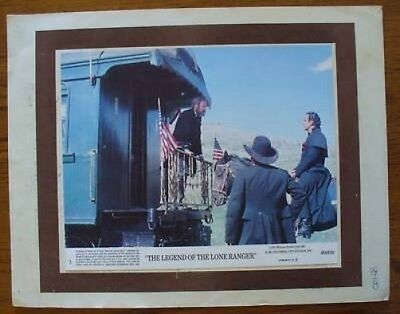 The Legend of the Lone Ranger Lobby Card