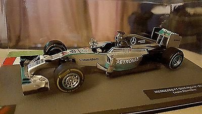 F1 Car Collection- Mercedes F1 W05 Hybrid Lewis Hamilton - Model Formula One Car
