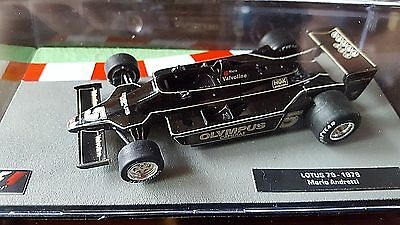 F1 Car Collection- Lotus 79 - Mario Andretti -1978 -  Model Formula One Car