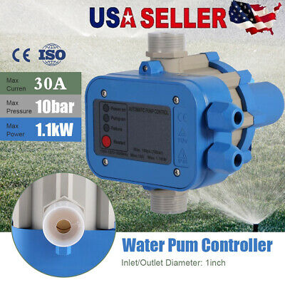Electronic Automatic Pump Switch Controller Water Pump Pressure Controller