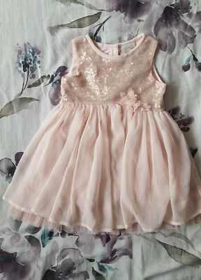 Girls Next Party/occasion Dress (12-18 Months)