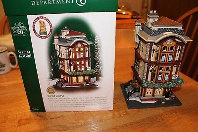 Dept 56 Dickens Village The Red Lion Pub special edition - retired