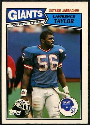 Lawrence Taylor #5 New York Giants Topps 1987 American Football Card (C552)
