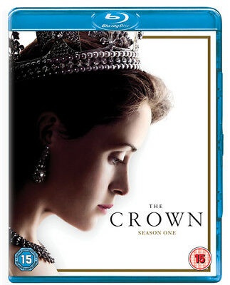 The Crown: Season One Blu-Ray (2017) Claire Foy cert tc 4 discs ***NEW***