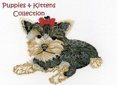 Puppies & Kittens Collection - Machine Embroidery Designs On Cd