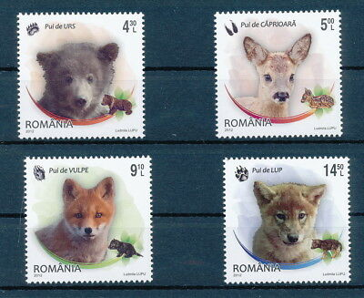 [H0466] Romania 2012 Fauna Very Fine MNH set of stamps