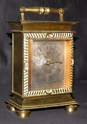 Great Quality Small English Fusee Carriage Clock