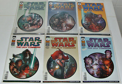 Star Wars The Last Command #1-6 Complete Set