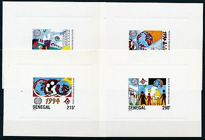 [H3145] Senegal 1994 good Very Fine MNH lot of 20 lux cards