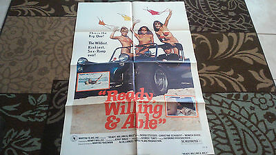 xReady, Willing & Able Folded Single Sided 27x40 Movie Poster