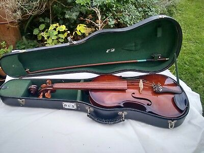 Viola made by Parrot. In good condition, includes hard carry case.