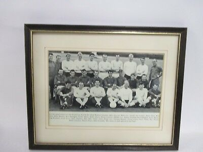 Framed England 1966  World Cup Squad Photo (Pick up & save P & P)