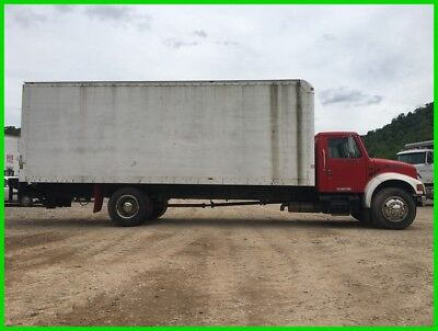2001 International 4700 Box Truck Diesel Straight Truck