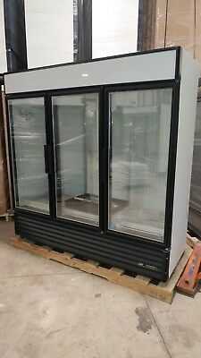 TRUE GDM 72 and TRUE GDM 72F THREE GLASS DOOR COOLERS and FREEZERS