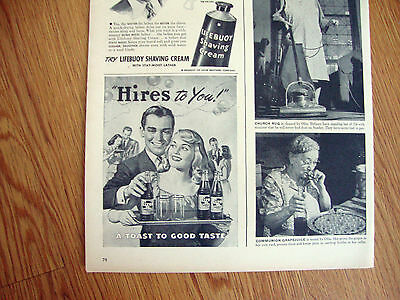 1947 Hires Root Beer Ad  Hires to You