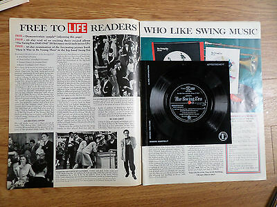 1970 Magazine Article Ad Swing Music Advertisement 33 1/3 RPM Record Time Life
