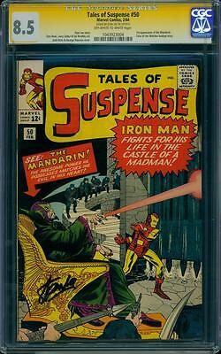 Tales of Suspense 50 CGC 8.5 Signature Series Silver Age key Comic Movie! L@@K!!