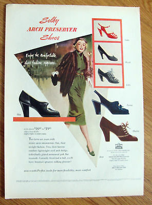 1951 Selby Arch Preserver Shoes Ad