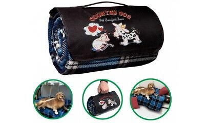 Coperta portatile multiuso per cani Country Dog Camon