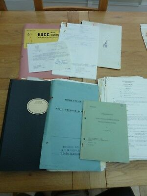 1965 -1972 Collection Civil Defence Documents E Sussex - Nuclear Attack Planning