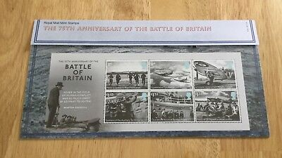 GB 2015 PRESENTATION PACK THE 75th ANNIVERSARY BATTLE OF BRITAIN No.514