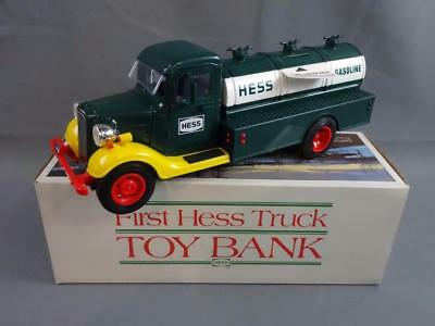 1985 Hess Truck Bank 1933 Chevy Fuel Oil Delivery Working w/Box & Inserts EX/NM