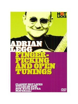 Hot Licks: Adrian Legg - Fingerpicking and Open Tunings. Guitar DVD (Region 0)