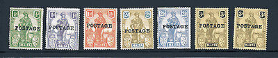 Malta 1928 Kgv Mint Selection - Watermarks Unchecked