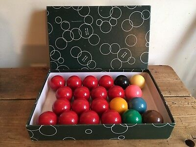 "Aramith Snooker Balls Set,Complete,Size 2""."
