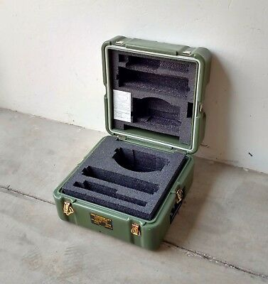 "Hardigg Military Surplus Container 19x19x12"", Hinges, handles, and breather."