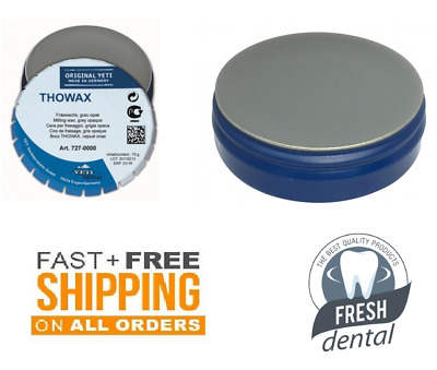 Dental Wax milling Yeti Thowax Dental Grey Opaque 70g Made in Germany