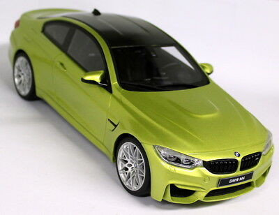 GT Spirit 1/18 Scale BMW M4 Competition Pack Yellow Resin cast Model Car