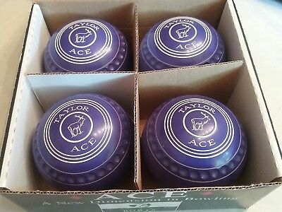 thomas taylor ace size 4 heavy lawn bowls