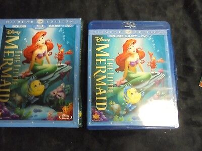 "USED DVD Blu-Ray "" Disney's Diamond Edition"" The Little Mermaid""   (200)"