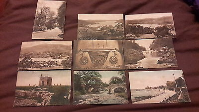 9 x Old postcards of Cumbria published by Frith's - The Hospice Hampsfell, Grang