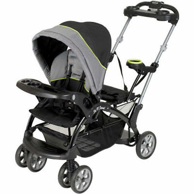 Sit And Stand Stroller Infant Toddler Double Travel System Storage Baby Trend