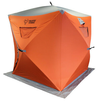END OF SEASON SALE! (Was $219.99) 3 Person Ice Shelter - Trophy Strike