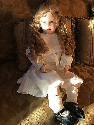 Porcelain Doll, Mandy By Rubert