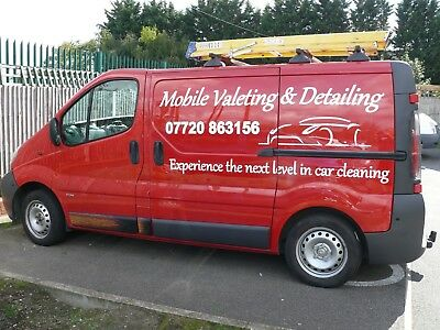 mobile car valeting business