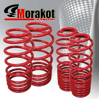 NEW Ford Mustang 05-10 Performance Jdm Sport Drop lower lowering Spring Kit Red