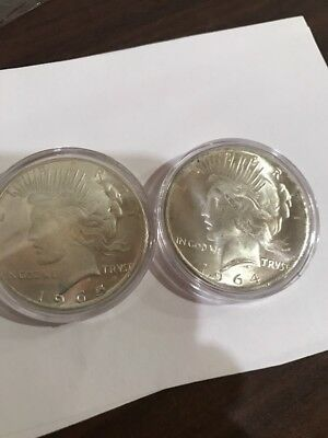 1964 And 1965 Peace Dollar Lot