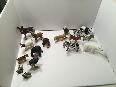 Schleich animals lot of 9 new 7 mint jungle forest mountain detail is amazing