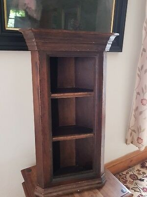 Very Old [? George 3Rd] Open Shelved Corner Unit.
