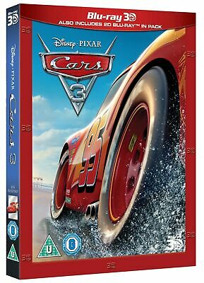 Cars 3 (3D Edition with 2D Edition) [Blu-ray]