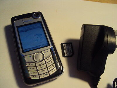 EASY PENSIONER KIDS CHEAP SENIOR  DISABLE NOKIA 6680 UNLOCKED+CHARGER+memory